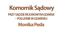 logo komornik sądowy Monika Peda